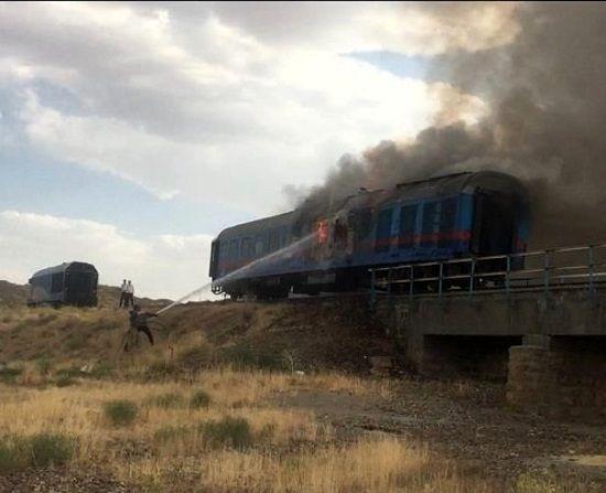 قطار اهواز هنگام مانور از خط خارج شد