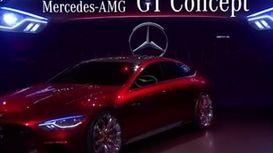 خودروهای جدید مرسدس بنز در نمایشگاه خودرو نیویورک +فیلم
