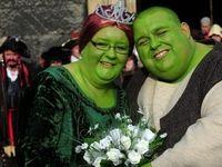 عروسی به سبک شرک و فیونا +تصاویر