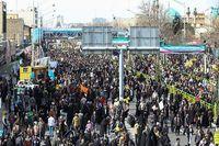 فرانسه: راهپیمایی ۲۲بهمن، نمایش اتحاد ایرانیها در برابر آمریکا بود