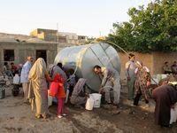 آبرسانی به عشایر منطقه «قره میدان» +تصاویر