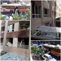 وقوع انفجار در ساختمان مسکونی در جنتآباد