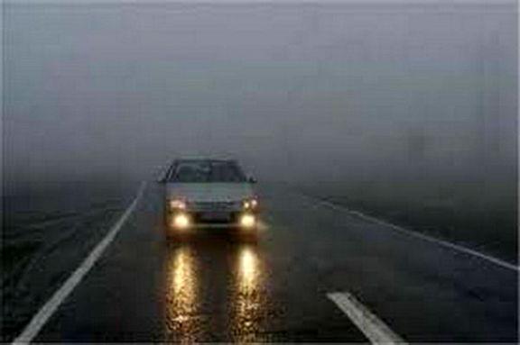بارش باران در جادههای 13استان