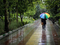 بارشهای پراکنده در پایان هفته