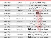 قیمت انواع خودرو هیوندای در بازار تهران +جدول