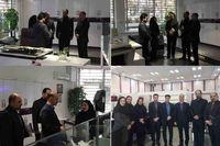 بازدید معاون عملیات بانکی از شعب استان تهران بانک ایران زمین
