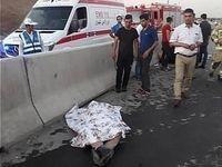 6 کشته و مصدوم در تصادف بزرگراه فهمیده +تصاویر
