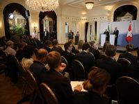 اسنادی که امروز امضا میشود نشانه اراده دو دولت در توسعه همکاریهاست/ بقای برجام به نفع امنیت و صلح جهانی و نیز اقتصاد بینالمللی است