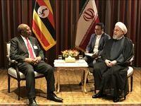 روحانی با نخست وزیر اوگاندا ملاقات کرد