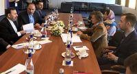 دیدار واعظی با وزیر تجارت اتحادیه اقتصادی اوراسیا