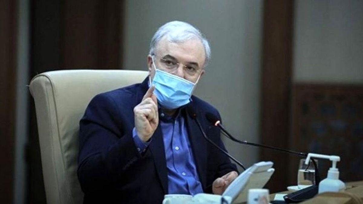 وزیر بهداشت وارد مشهد شد