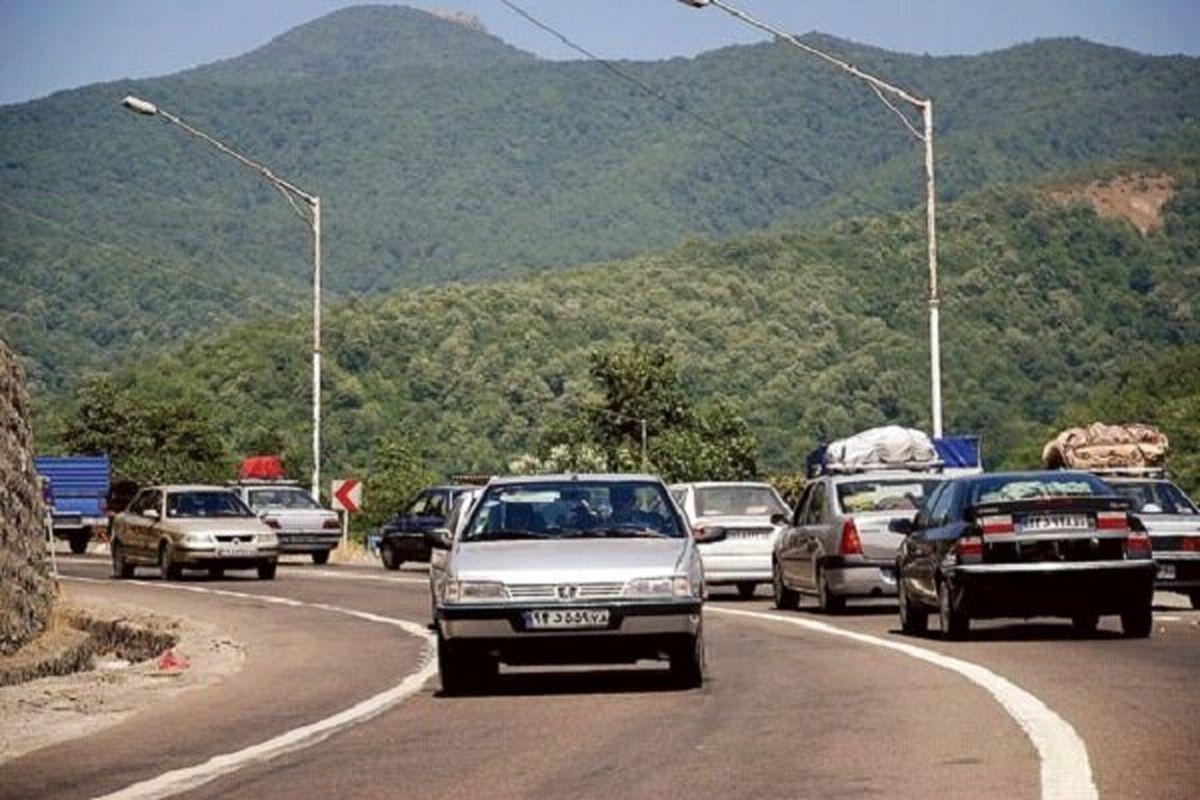 ثبت ۸۲۴هزار فقره تردد جاده ای طی تعطیلات گذشته در مازندران