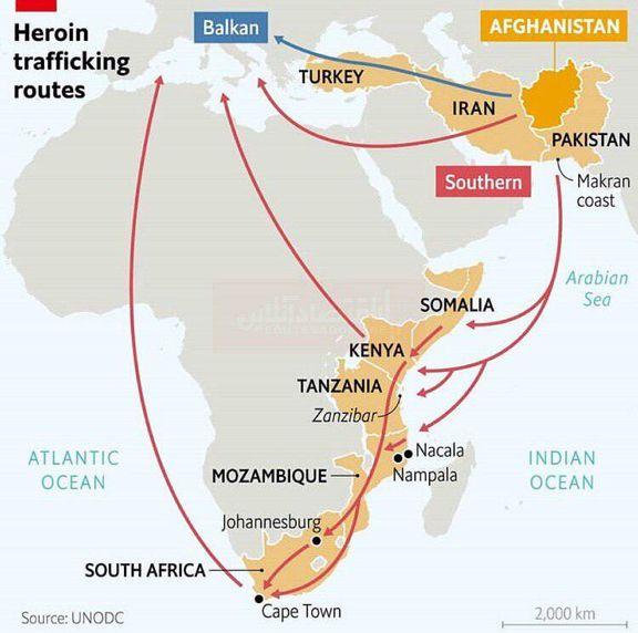 هروئین کجا تولید میشود؟