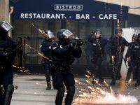 شنبههای اعتراض در فرانسه وارد هفته سیوچهارم شد +فیلم