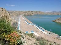 رها سازی آب سد شیرین دره برای پیشگیری از سیلاب