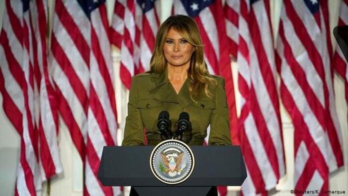 ادعای عجیب ملانیا ترامپ درباره همسرش +عکس