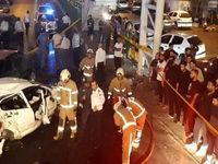 ۳ کشته در سانحه سقوط خودروی سواری از روی پل