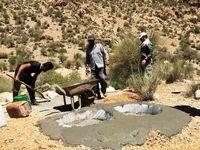 نذر آب در جنوب فارس