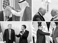 بدعتگذاریهای ترامپ در سفرهای خارجی +تصاویر