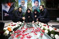 دیدار خصوصی خانواده سردار سلیمانی با رهبر انقلاب +عکس