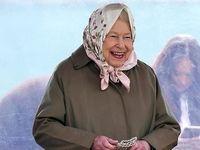 پوشش متفاوت ملکه انگلیس در مسابقات سوارکاری +تصاویر
