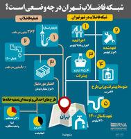 شبکه فاضلاب تهران در چه وضعی است؟
