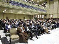 دورهمی سیاستمداران در یک مراسم ترحیم +تصاویر