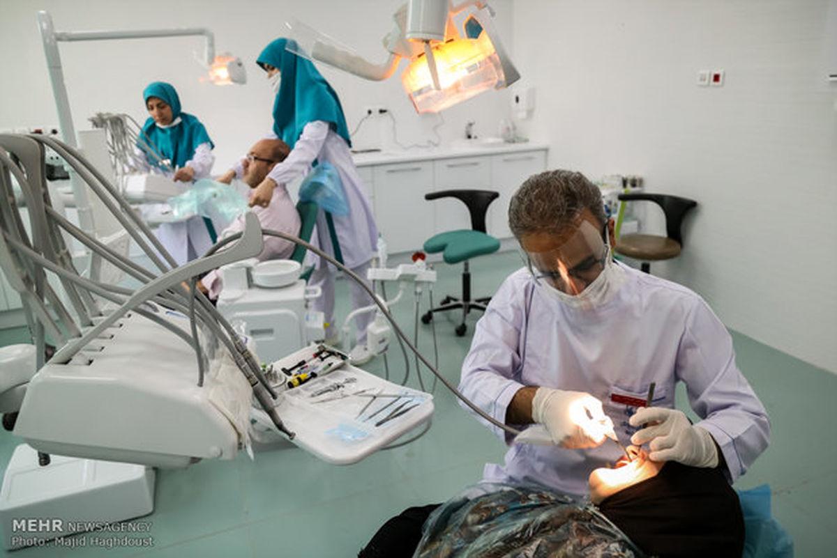 احتمال ابتلا به کووید۱۹ در مطب دندانپزشکی بسیار کم است
