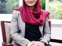 یک زن سفیر افغانستان در آمریکا شد +عکس