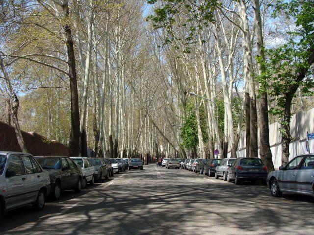 محل سکونت سیاستمدارن ایرانی