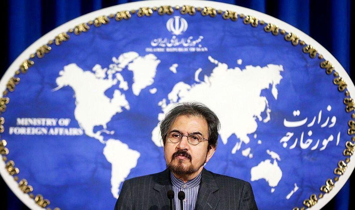 بهرام قاسمی: سیاست ایران افزایش تنش در منطقه نیست