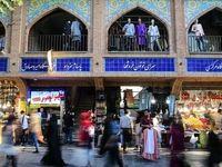 حال و هوای بازار تهران در گرمای داغ تابستان +تصاویر