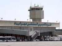 حریق هواپیما در مهرآباد  +عکس