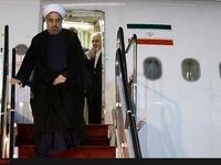 روحانی برای شرکت درمجمع عمومی سازمان ملل وارد نیویورک شد