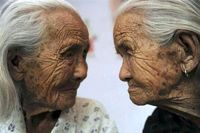 پیرترین دوقلوهای جهان+عکس