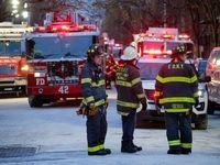 کشته شدن ۱۲نفر در آتش سوزی آپارتمانی در نیویورک +تصاویر