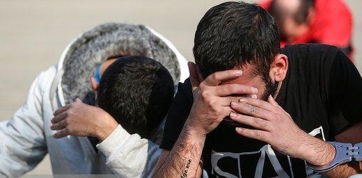 دستگیری سارقان لوازم خودرو با شلیک پلیس