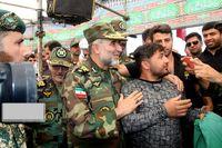 حضور فرمانده نیروی زمینی ارتش در مرز خسروی +عکس