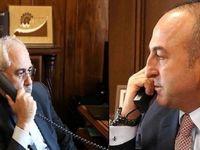 رایزنی تلفنی ظریف و چاووش اوغلو درباره ونزوئلا