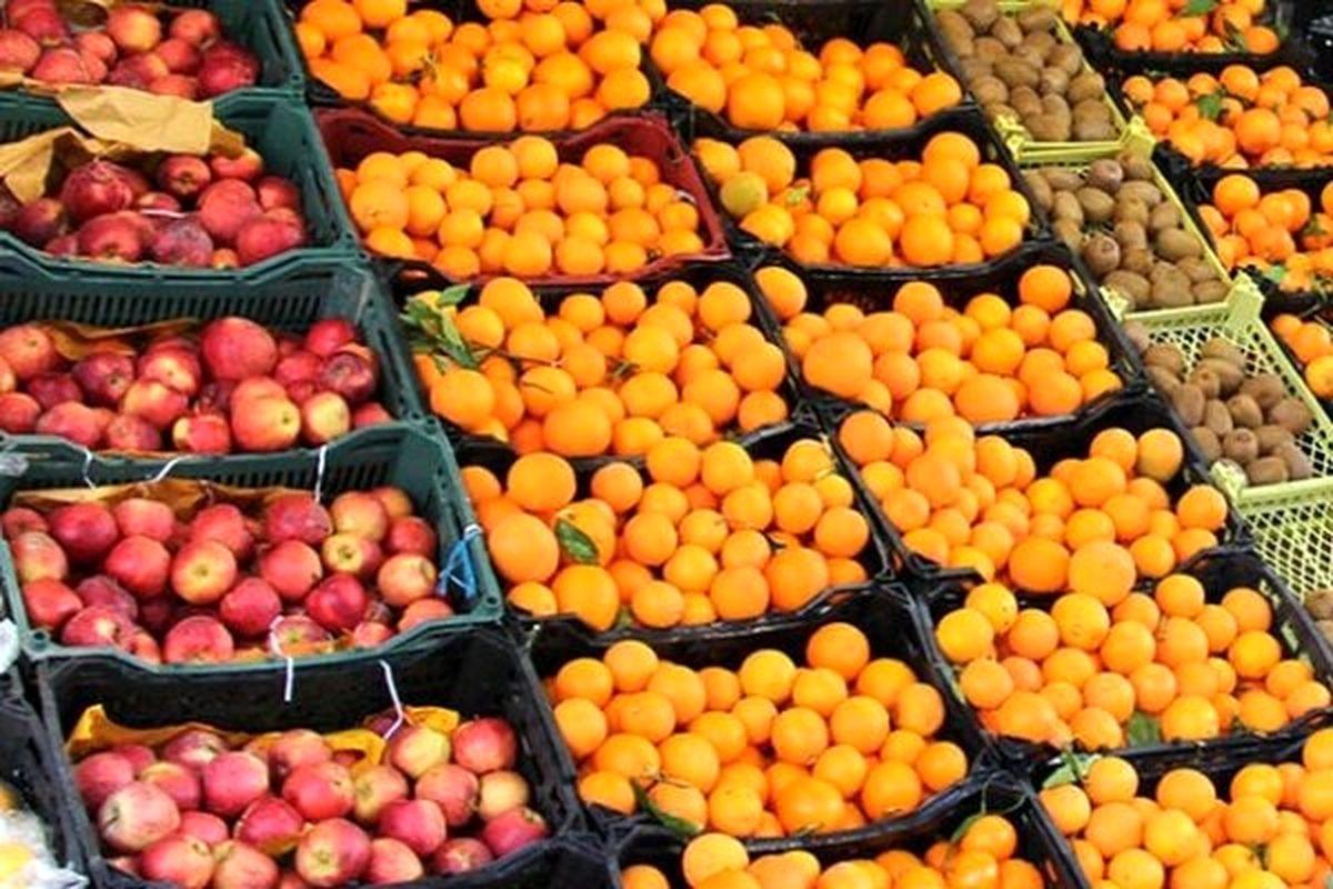 سیب و پرتقال شب عید چند؟