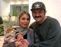عکس جدید مهرداد غفوریان و دخترش