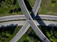 خلوتی هولناک شلوغترین بزرگراههای جهان +عکس
