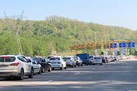 ترافیک فوق سنگین در ورودی شرقی پایتخت