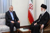 رییس جنبش حماس از رهبر انقلاب قدردانی کرد