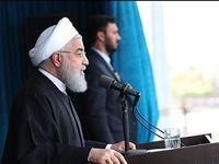 روحانی در جمع مردم بوشهر +تصاویر