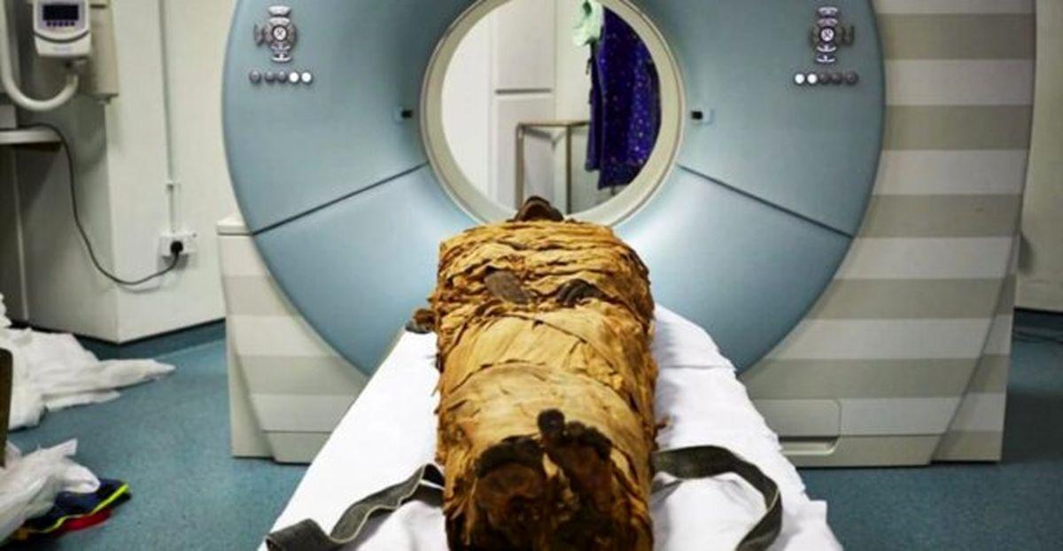 بازسازی صدای یک مومیایی ۳۰۰۰ ساله + فیلم