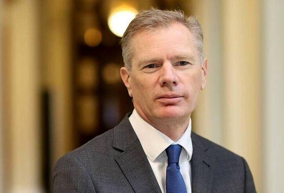توئیت رابرت مکایر در پی حمایت انگلیس از ایران