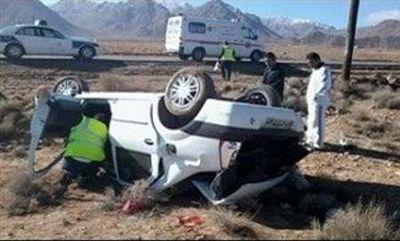 تصادف سواری و نیسان ۳ کشته به جای گذاشتن