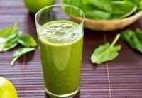 یک نوشیدنیِ سبز پُرخاصیت