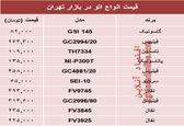 قیمت پرفروشترین انواع اتو دربازار تهران؟ +جدول